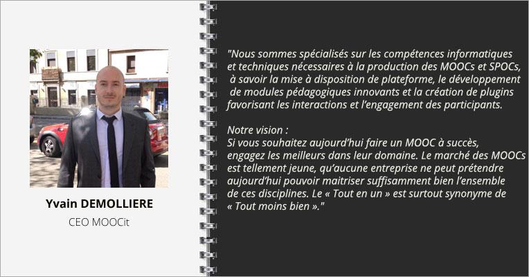 Interview Yvain Demollière  MOOCIT