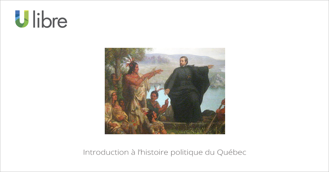 MOOC Introduction à l'histoire politique du Québec