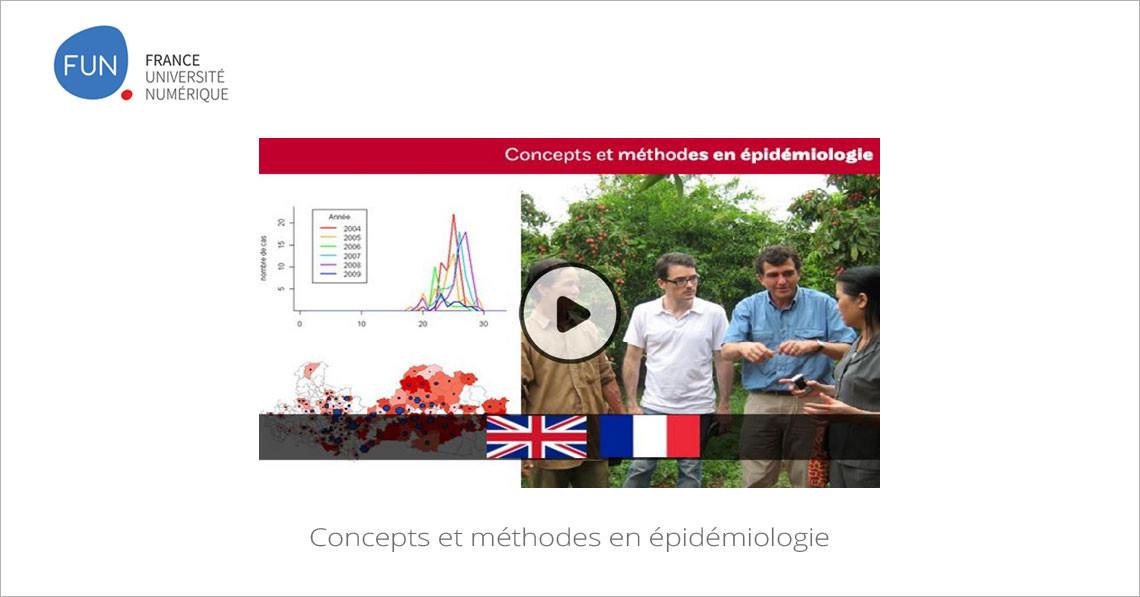 MOOC Concepts et méthodes en épidémiologie