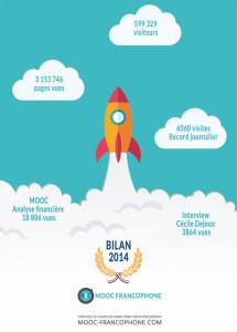 Bilan 2014 MOOC Francophone