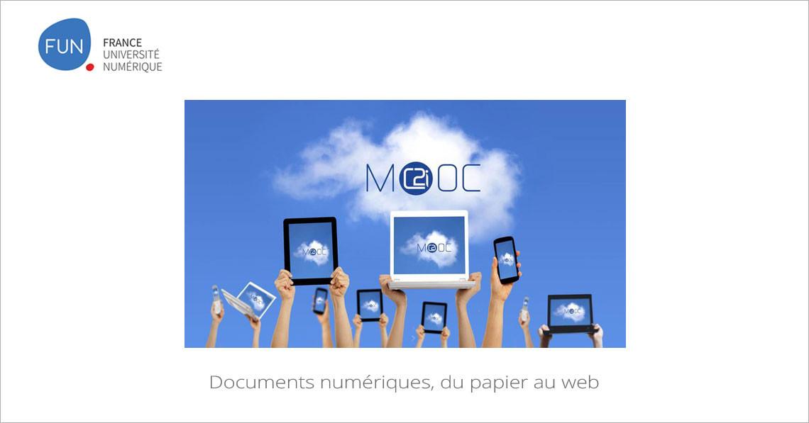 MOOC Documents numériques, du papier au web