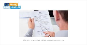 Réussir son CV et sa lettre de candidature