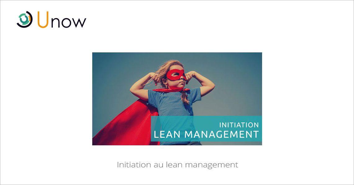 Initiation au lean management
