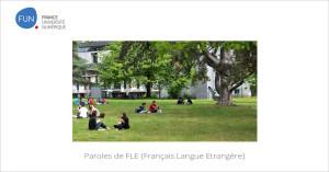 Paroles de FLE {Français Langue Etrangère}