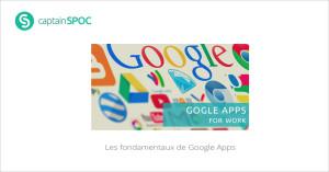 SPOC Les fondamentaux de Google Apps