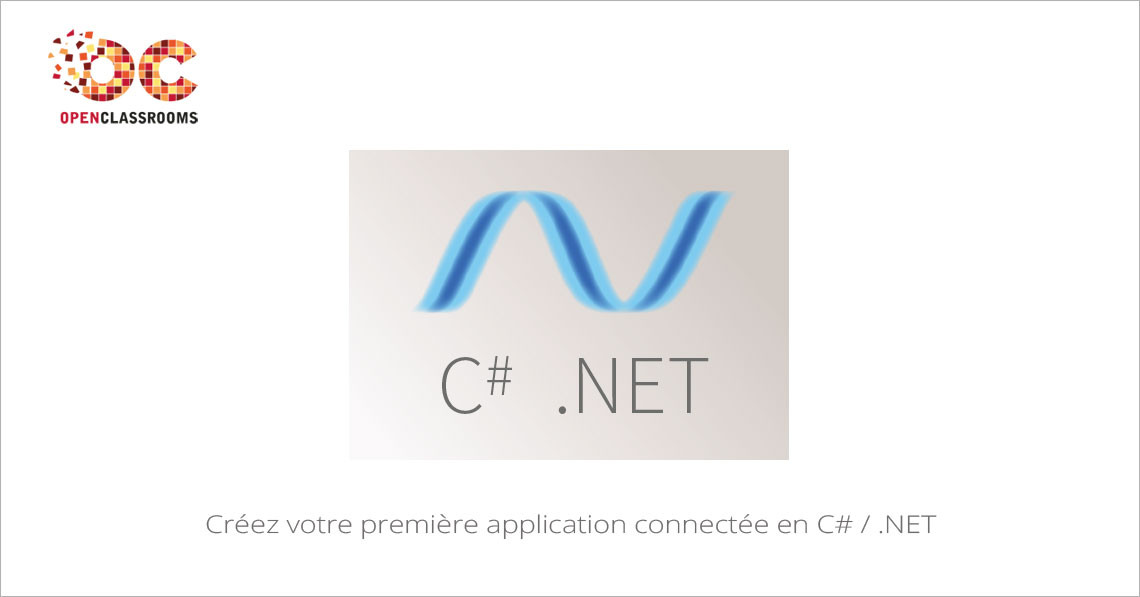 MOOC Créez votre première application connectée en C# / .NET