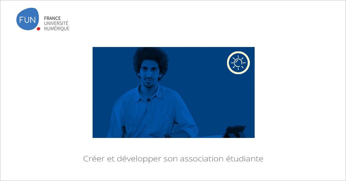 MOOC Créer et développer son association étudiante