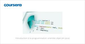 MOOC Introduction à la programmation orientée objet (en Java)