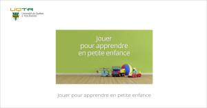 MOOC Jouer pour apprendre en petite enfance