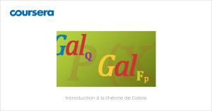 MOOC Introduction à la théorie de Galois