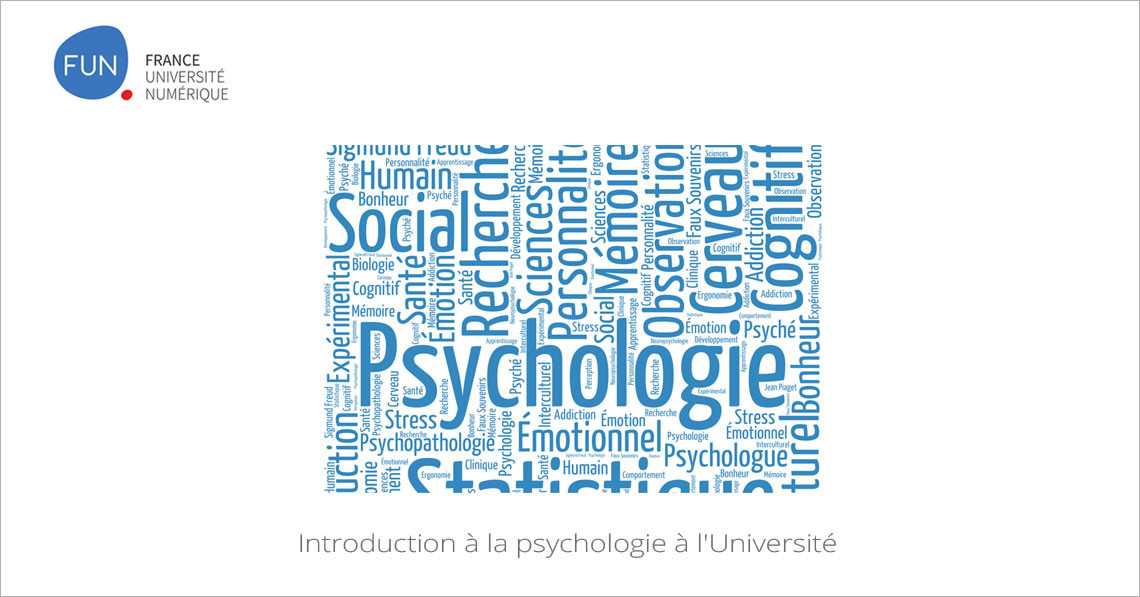 MOOC Introduction à la psychologie à l'Université