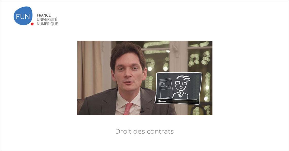 MOOC Droit des contrats