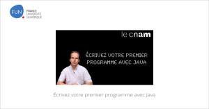 MOOC Écrivez votre premier programme avec Java