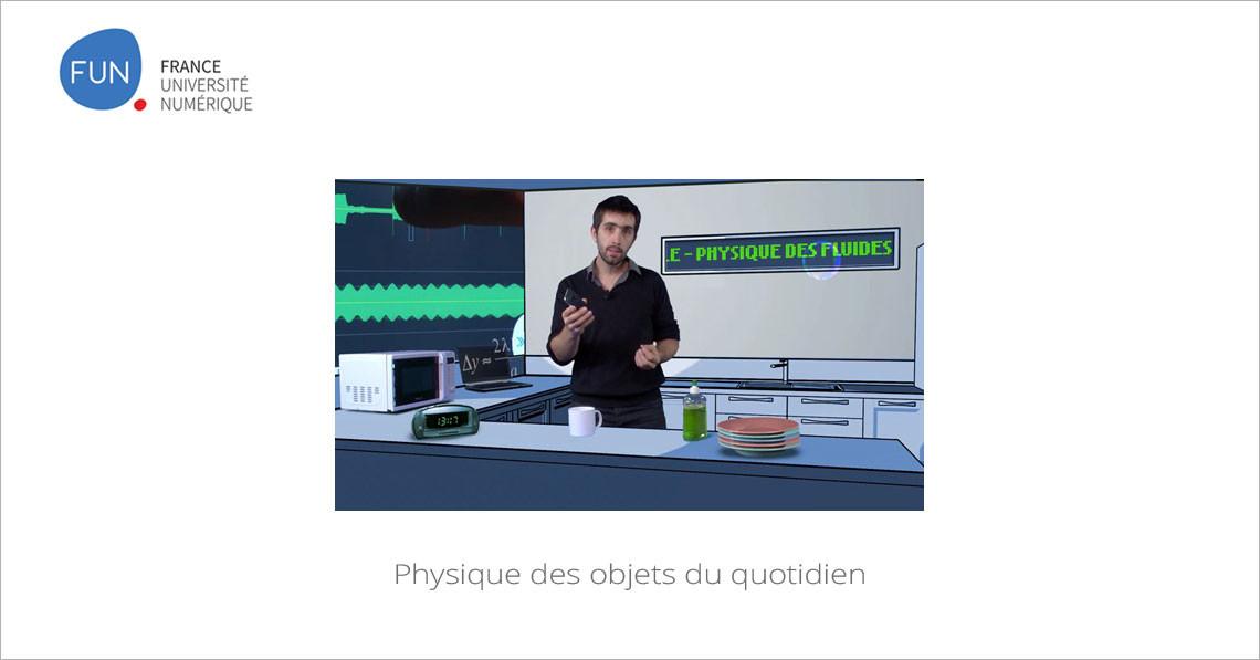 MOOC Physique des objets du quotidien