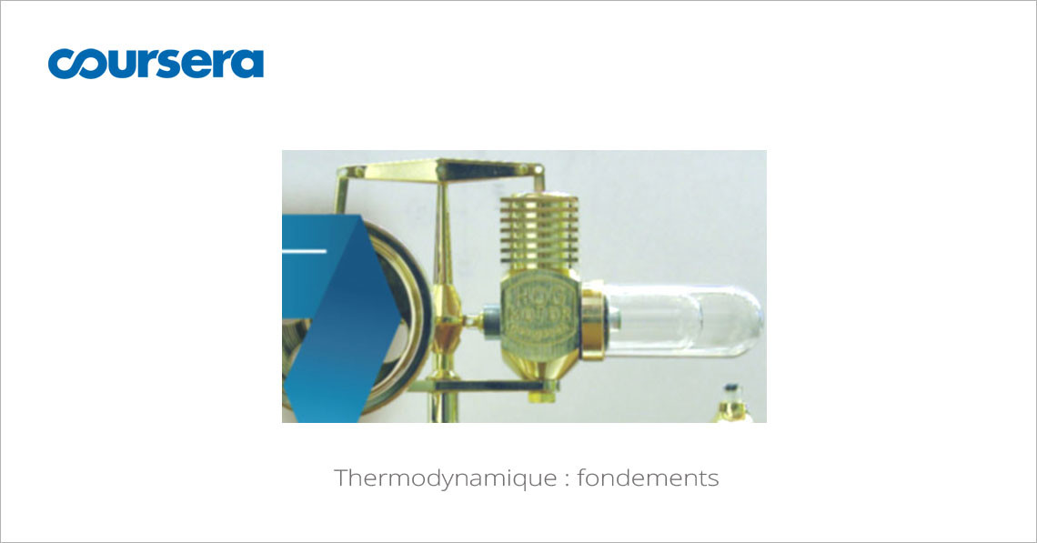 MOOC Thermodynamique fondements