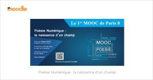 MOOC Poésie numérique : la naissance d'un champ