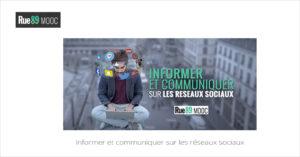 MOOC Informer et communiquer sur les réseaux sociaux