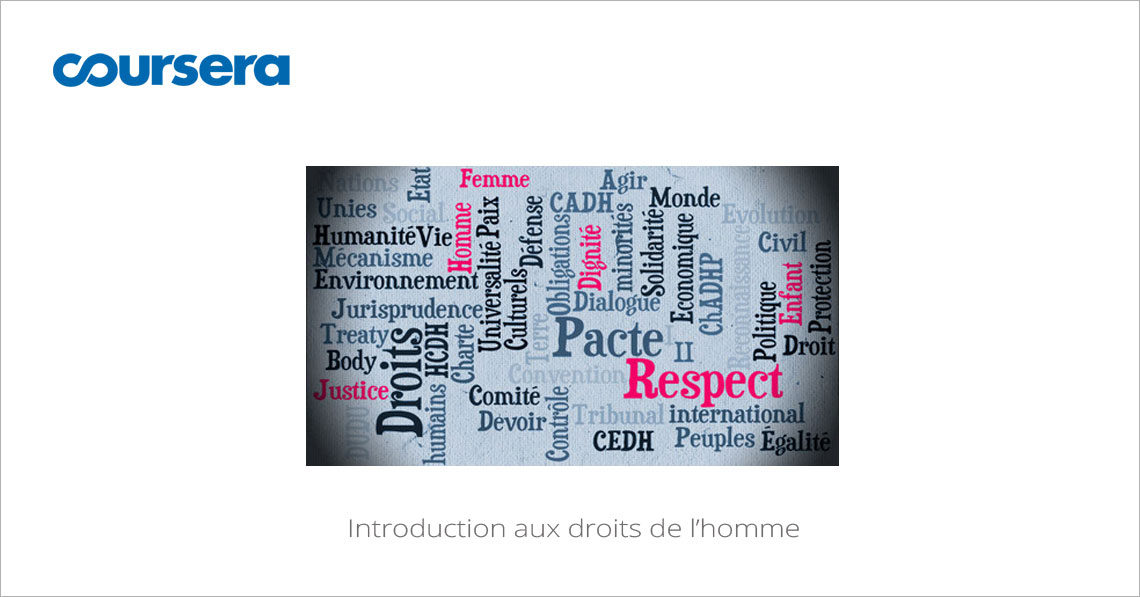 MOOC Introduction aux droits de l'homme