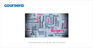 MOOC Introduction aux droits de l'homme