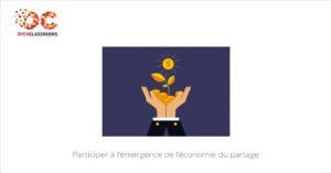 Participer à l'émergence de l'économie du partage