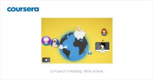 MOOC L'impact investing : être acteur