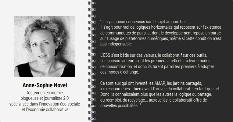 Interview Anne Sophie Novel, MOOC Comprendre l'économie collaborative