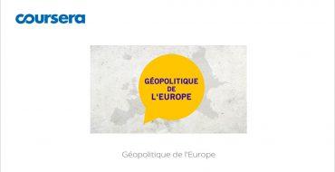 MOOC Géopolitique de l'Europe