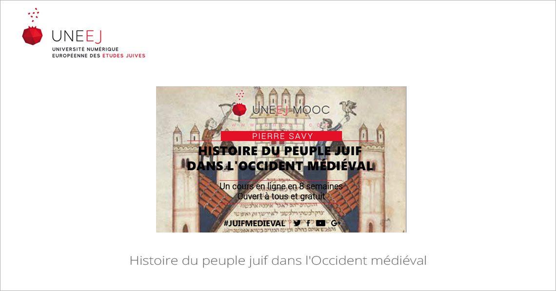 MOOC Histoire du peuple juif dans l'Occident médiéval