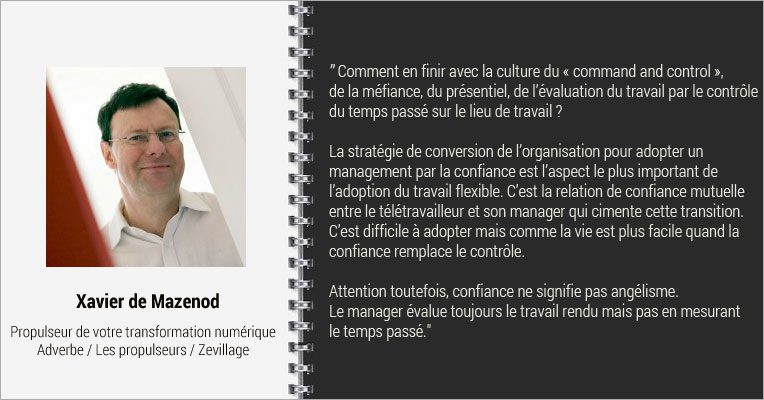 Interview Xavier de Mazenod