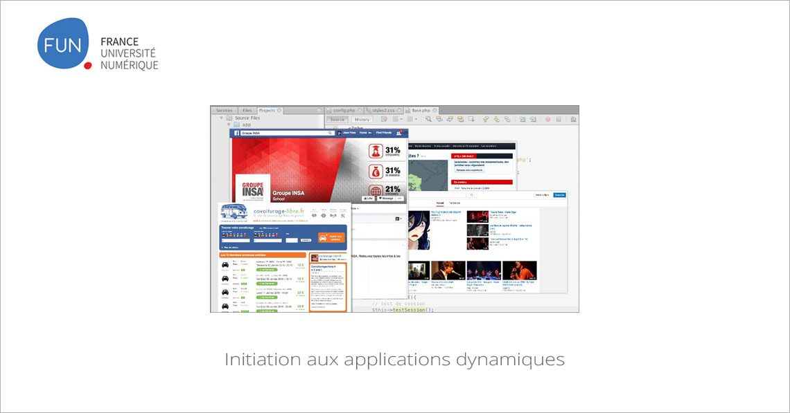 MOOC Initiation aux applications dynamiques
