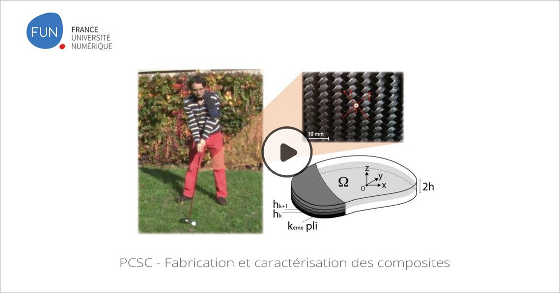 MOOC PCSC - Fabrication et caractérisation des composites