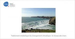 MOOC Traitement médiatique du changement climatique : le niveau des mers