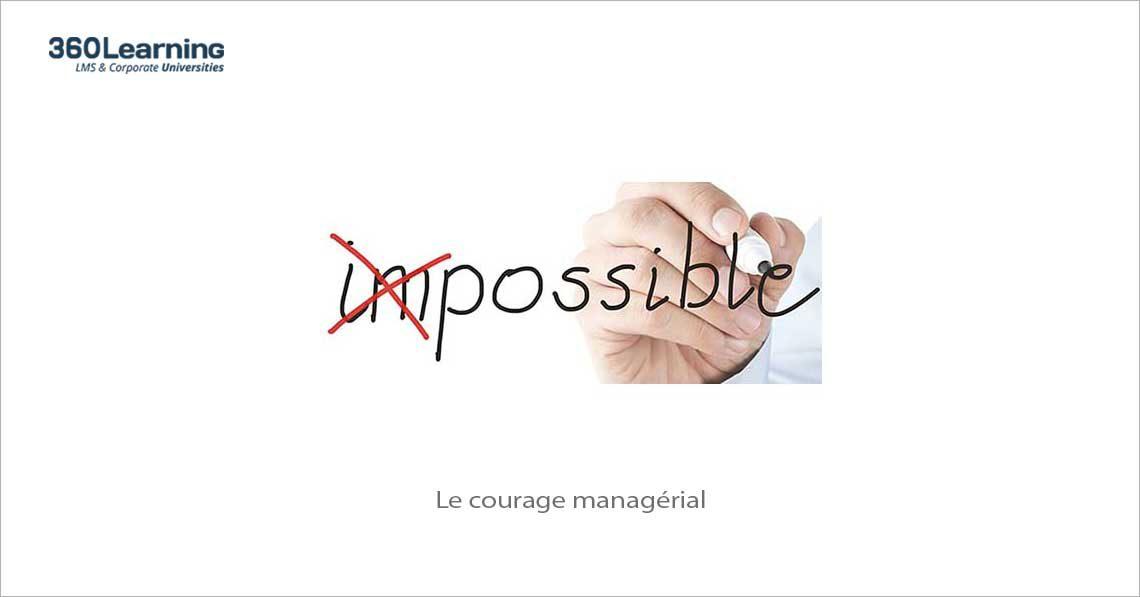 Le courage managérial