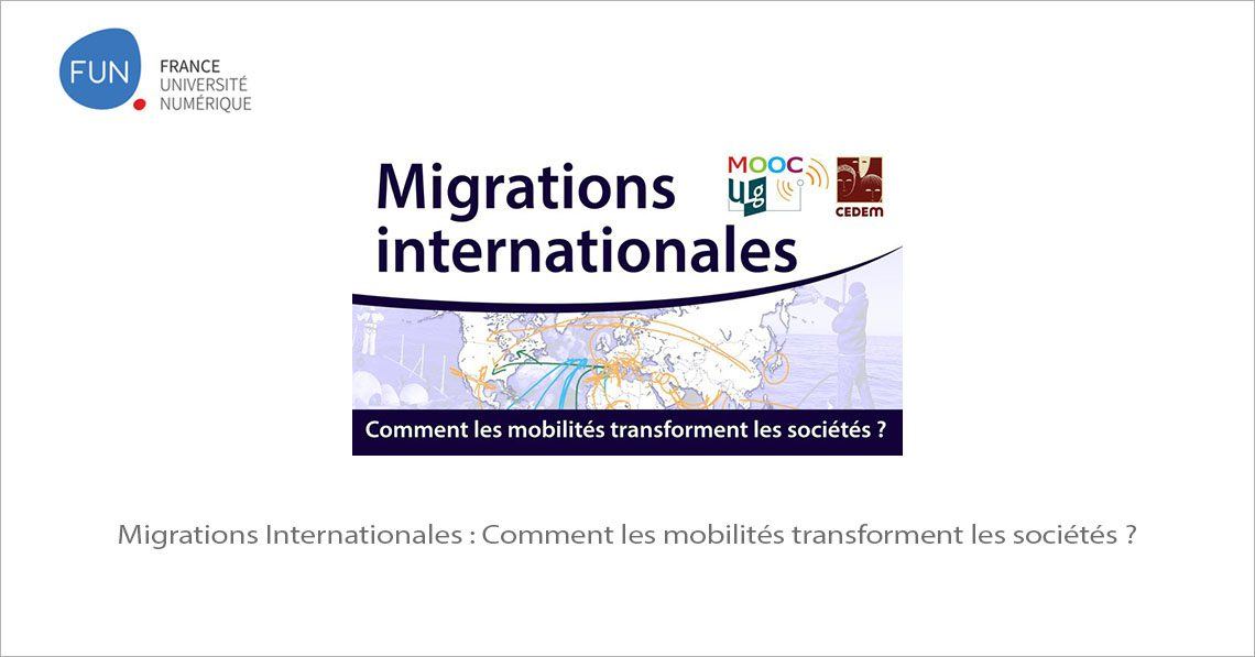 MOOC Migrations Internationales