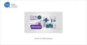 MOOC Socle en Mécanique