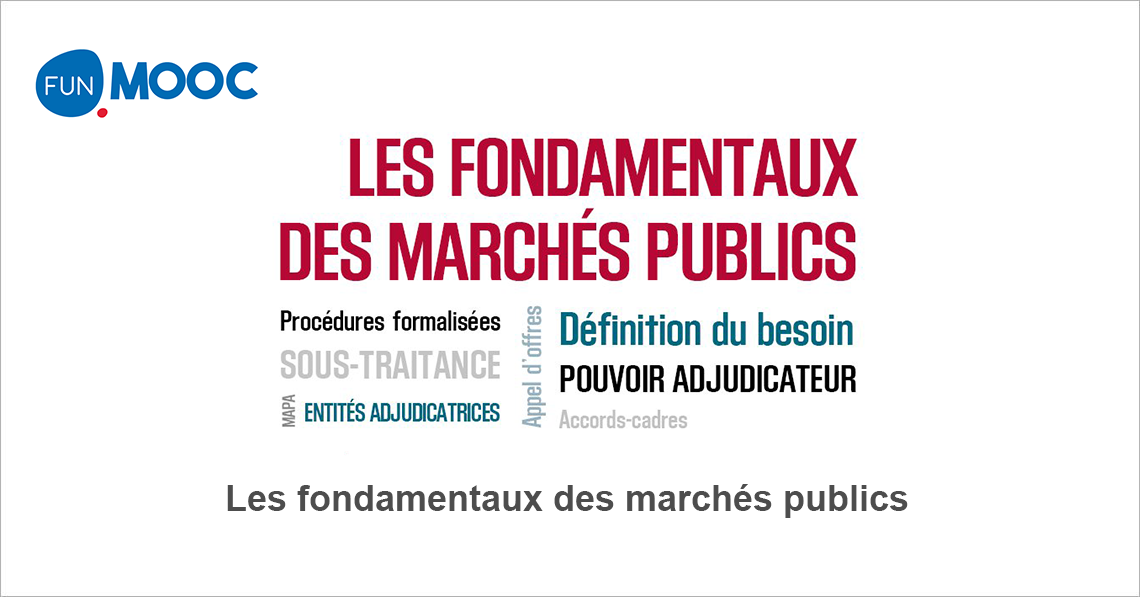 722b3285247 Les fondamentaux des marchés publics